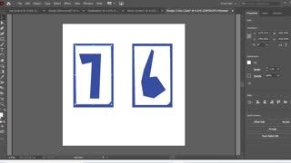 How to Create Uno Card In Adobe illustrator