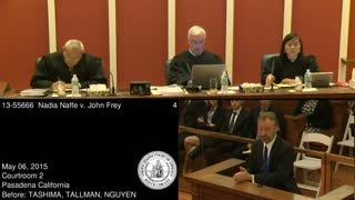 Naffe v. Frey - Oral argument, 9th Circuit Court of Appeals