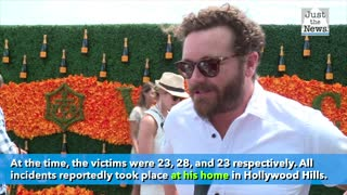 Actor Danny Masterson has been charged with three counts of rape.