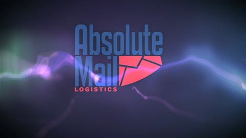 Particle Ribbon Logo Sting for Absolutemail.com