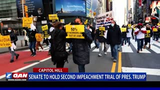 Senate to hold second impeachment trial of President Trump