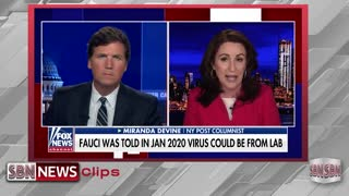 Tucker Carlson Reacts to Fauci's Surreal Interviews Amid Email Scandal - 1847