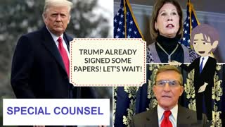 Trump signed the Documents