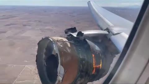United Flight 328 Engine Failure