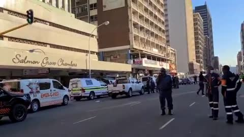 A hostage situation is unfolding in the Durban CBD