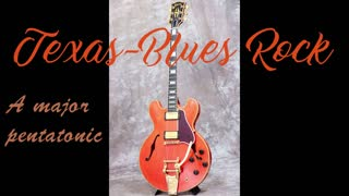 Texas-Blues Rock backing track in A major