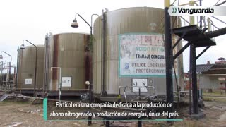 Video: Las ruinas en las que quedó la planta de Ferticol en Santander