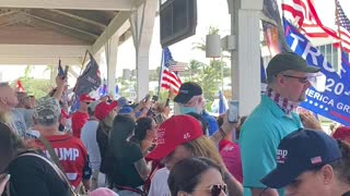 Roger Stone Defend America Rally 11/14/2020 Delray Beach Fl.