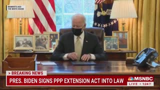 Biden's Handlers Aggressively Prevent Reporters From Asking Questions