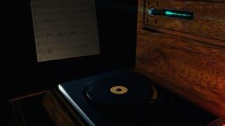Music: Elemental Restructure - Vinyl Record Playback