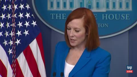 Psaki Freezes Up When Asked Why Biden Didn't Commemorate D-Day