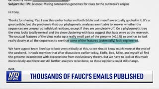 Thousands of Fauci's Emails Published
