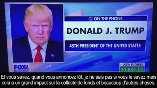 30 Avril 2021 Message de Donald Trump