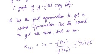Math4A_Lecture_Overview_MAlbert_CH4_8_Newton's Method