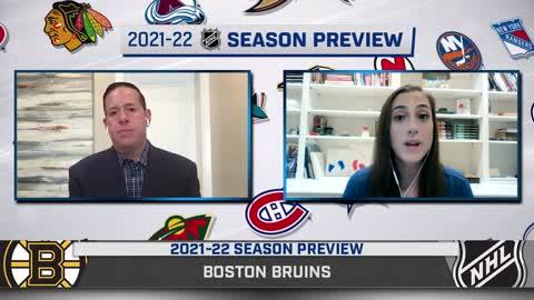 Boston Bruins 2021-2022 Season Preview
