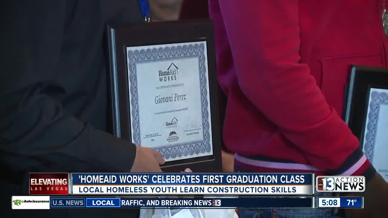 Homeaid of Southern Nevada celebrates first graduation class