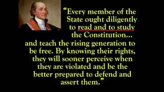 Do You Know Why Chief Justice John Jay Said to Study the Constitution?