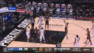 Los Angeles Clippers vs. Phoenix Suns Full Highlights 4th Quarter   NBA WEST FINALS