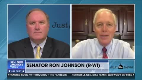 Senator Johnson on John Solomon Real America's Voice 6.22