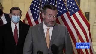 Ted Cruz Has SAVAGE Comeback To Reporter Asking Him To Wear A Mask