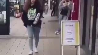 Funny dinosaur prank 🤣