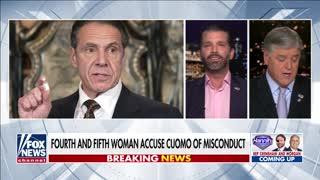 Donald Trump Junior DESTROYS NY Governor Cuomo For Failed COVID Response
