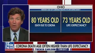 Deaths for COVID is often older than life expectancy...
