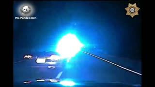 Car Chase Of Impaired Driver Ended With PIT Maneuver
