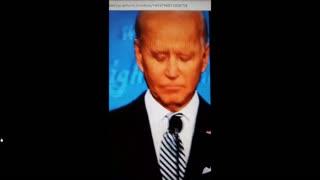 A Patriot found Biden wearing a wire!
