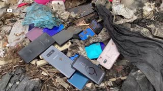 Restore Abandoned Phone Found From Rubbish, Destroyed Phone Restoration