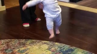 Baby first steps