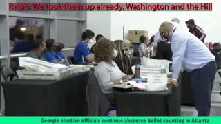 Fulton County Vote Fraud Conspiracy discussion from Livestream
