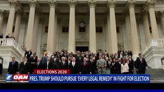 President Trump Should Pursue 'Every Legal Remedy'