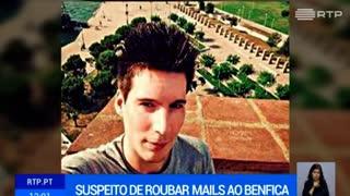 Reveladas imagens da detenção de Rui Pinto