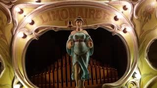 Antique organ playing uplifting beat!