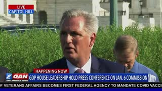 Leader McCarthy Highlights How Partisan Pelosi's Commission Is