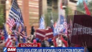 State legislators are responsible for election integrity