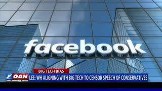 Sen. Lee: White House aligning with Big Tech to censor speech of conservatives