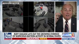Giuliani insists 'we have a real good shot' at overturning election