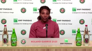Serena supports Osaka after French Open withdrawal