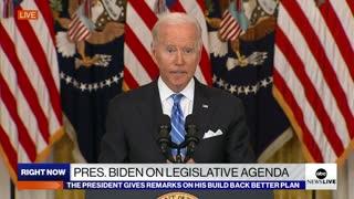 Biden Promotes Build Back Better Agenda