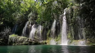 Relaxing Music with Nature Sounds - Waterfall