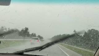 Lightning Storm Startles Drivers
