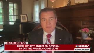 U.S. Army veteran Matt Zeller goes off on MSNBC about Biden's remarks