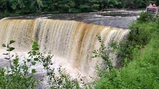 Upper Tahquamenon Falls in upper Michigan