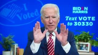 Joe Biden admits to organizing voter fraud