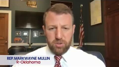 Rep. Markwayne Mullin (R-OK) Defends Ashli Babbitt's Murderer