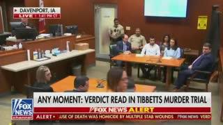 BREAKING NEWS: Illegal alien found guilty in murder of Mollie Tibbetts.