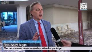 Andy Biggs - The debate over next coronavirus stimulus package