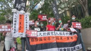 Hong Kong celebra retrocesión a manos británicas